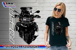 T-SHIRT 2021 R1250 LIGHT BLK