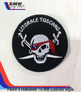 Patch Toppa Litorale Style 76 mm