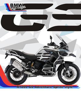 Adesivo Serbatoio GS  per GS Adventure LC