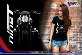 T-SHIRT NINE-T  LIGHT  FNT