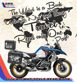 Pellicola per  CASE ALU  SERIE ADVENTURE -  Read Book Style