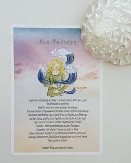 Atemkarte «Meeres-Meditation»