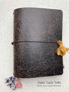 vintage antik dunkel Traveler's Notebook für Notizhefte und/oder Kalender