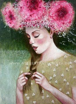 """Kunstdruck """"Flowergirl"""""""