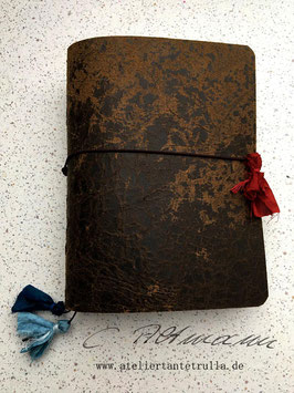 antik braunes Traveler's Notebook für Notizhefte und/oder Kalender