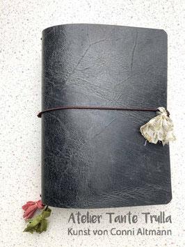 antik schwarzes Traveler's Notebook für Notizhefte und/oder Kalender