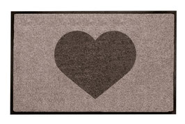 Heart Taupe