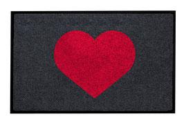 Heart crimson - waschbar -