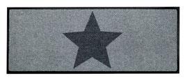 Big Star Grey  Longline - waschbar