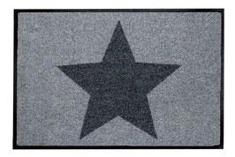 BIG STAR GREY - BIG SIZE- waschbar