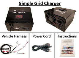 Simple Grid Charger System (Discharge Compatible)