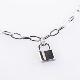 Halskette Alexa Schloss Anhänger