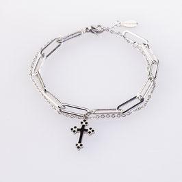Armband Antigona Kruzifix Anhänger
