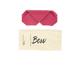 funda bow color fucsia
