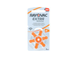 pack 10 blister rayovac 13