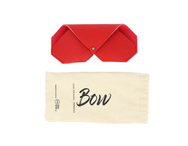 funda bow color rojo
