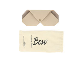 funda bow color beig