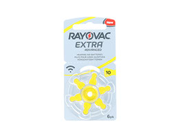 pack 10 blister rayovac 10