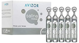 solución salina monodosis avizor