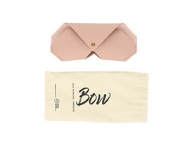 funda bow color rosa palo