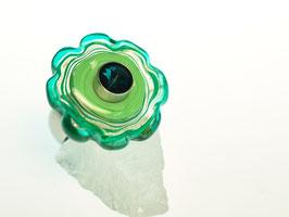 Ring grüne Blüte - anello fiore verde