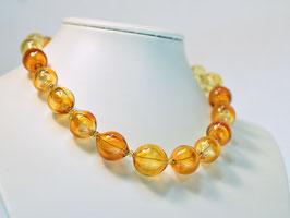 Collier amber - girocollo ambra