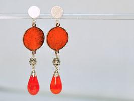 Ohrringe rot - orecchini rossi