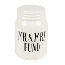 "Spardose ""Mr. & Mrs. Fund"""