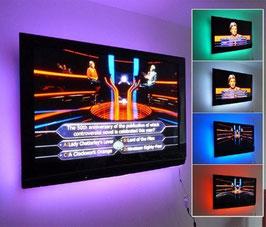 Hintergrund Beleuchtung RGB 1 Meter oder 2 Meter oder 5 Meter LED mit Fernbedienung