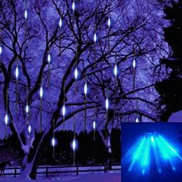 10 x 50 cm LED Aussen Schneefall Lichter Wasserdicht