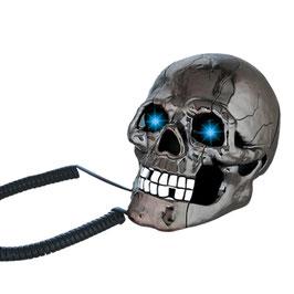 Telefon  Leuchtender Schädel