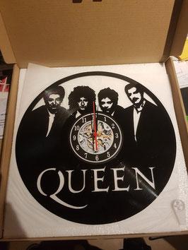 Schallplatten Vinyl Wanduhr Queen