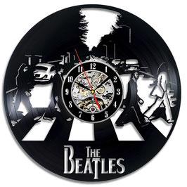 Schallplatten Vinyl Wanduhr Beatles