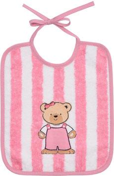 """Lätzchen """"Teddy"""" rosa"""