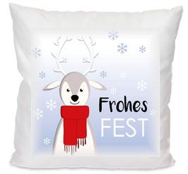 Kissen Frohes Fest