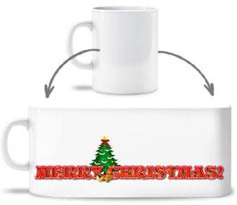 Keramiktasse Merry Christmas