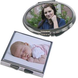 Handtaschenspiegel mit Fotodruck