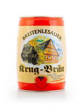 Breitenlesauer Lager dunkel - 5 Liter Partyfass