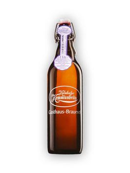Kulmbacher Kommunbräu Bernstein  - 1 Liter Bügelflasche