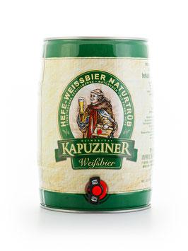 Kapuziner Hefeweißbier - 5 Liter Partyfass