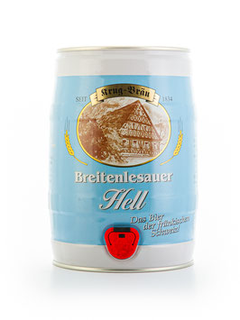 Breitenlesauer Hell - 5 Liter Partyfass
