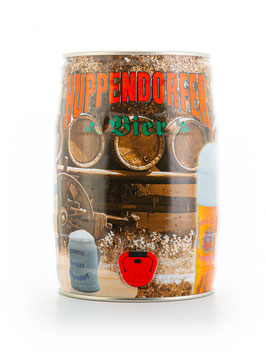 Huppendorfer Vollbier - 5 Liter Partyfass