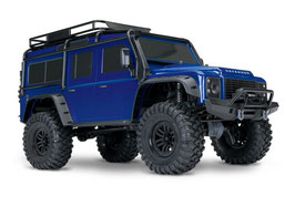 TRX4 LAND ROVER - RTR - Metallic-BLUE
