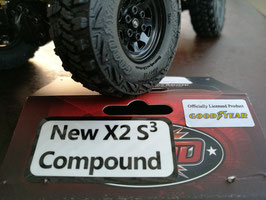 "4 x Goodyear WRANGLER MT/R 1 -  1.0"" für 1/18 Crawler"