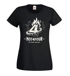 T-shirt Women Not 4 four Voodoo