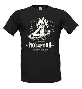 T-shirt Not 4 four Voodoo