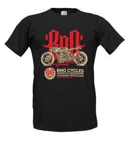 T-shirt MEN Rno Cycles Black