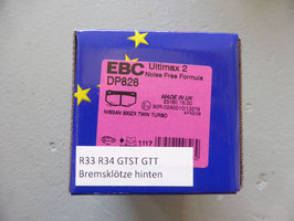 EBC Ultimax 2 hinten DP826 - Nissan Skyline R33 R34 GTST GTT