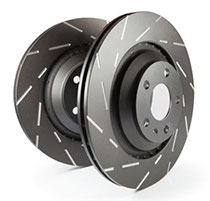 R32 GTST EBC Black Dash Disc 280x30-54 vorne USR695