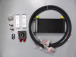 19 Reihen Ölkühler Set mit Sandwichadapter mit Thermostat - alle RB Motoren